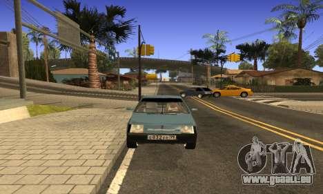 ZAZ Tavria für GTA San Andreas rechten Ansicht