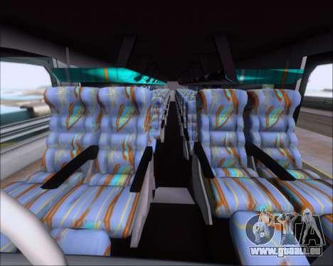 Busscar Jum Buss 400 Volvo B10R Pullman Del Sur für GTA San Andreas Seitenansicht