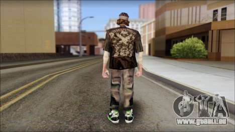 The Truth Skin für GTA San Andreas zweiten Screenshot