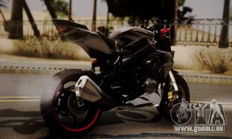 Kawasaki Z1000 2014 - The Predator pour GTA San Andreas laissé vue