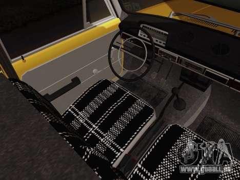 VAZ 2101 Ramassage pour GTA San Andreas vue intérieure