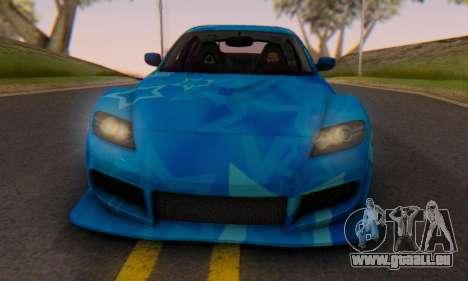 Mazda RX-8 VeilSide Blue Star für GTA San Andreas