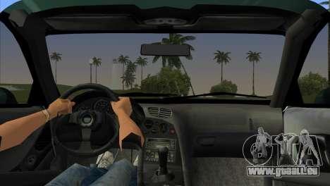 Mazda RX-7 Tuning für GTA Vice City zurück linke Ansicht