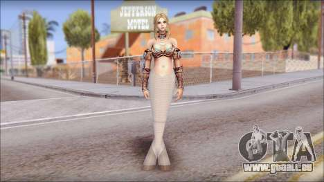 Mermaid Salmon Tail pour GTA San Andreas