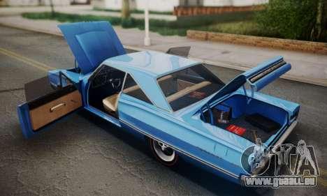 Dodge Coronet 440 Hardtop Coupe (WH23) 1967 für GTA San Andreas Innenansicht