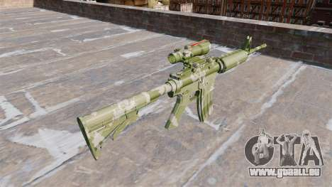 Automatique carabine MA Garde-Camo pour GTA 4 secondes d'écran