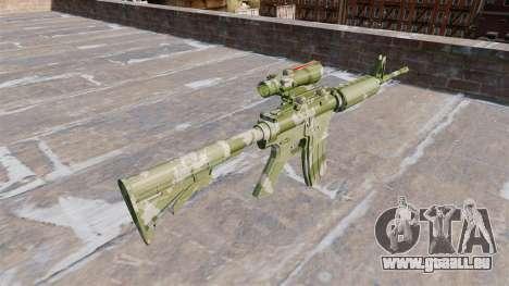 Automatische Karabiner MA Guard Camo für GTA 4 Sekunden Bildschirm