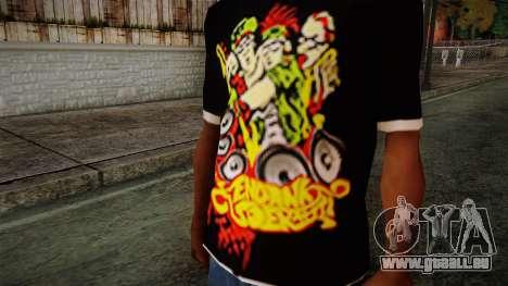 Endank Soekamti T-Shirt pour GTA San Andreas troisième écran