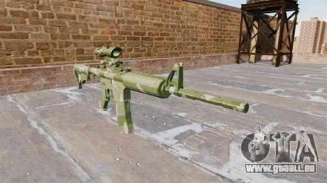 Automatische Karabiner MA Guard Camo für GTA 4
