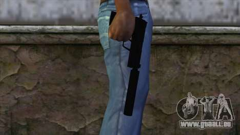 USP-S from CS:GO v2 pour GTA San Andreas troisième écran
