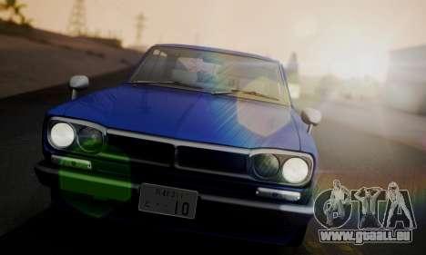 Nissan Skyline GC10 2000GT für GTA San Andreas Seitenansicht