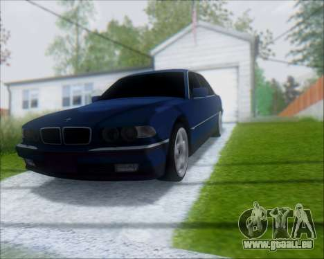 BMW 7 E38 für GTA San Andreas rechten Ansicht