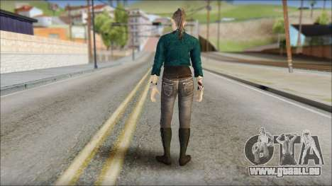 Clara Lille From Watch Dogs für GTA San Andreas zweiten Screenshot
