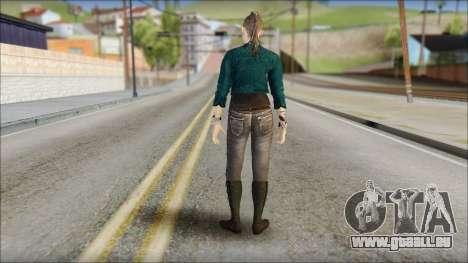 Clara Lille From Watch Dogs für GTA San Andreas zweiten Screenshot