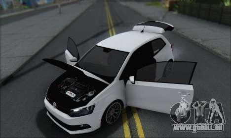 Volkswagen Polo pour GTA San Andreas vue de dessus