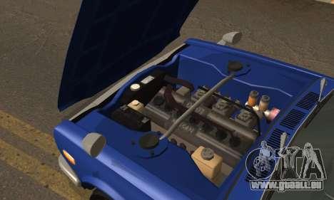 Nissan Skyline GC10 2000GT für GTA San Andreas Innenansicht