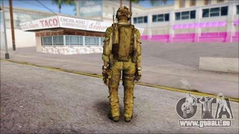 Truck from Modern Warfare 3 für GTA San Andreas zweiten Screenshot