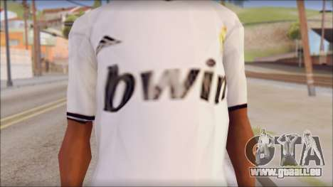 Real Madrid FC Jersey Mod für GTA San Andreas dritten Screenshot