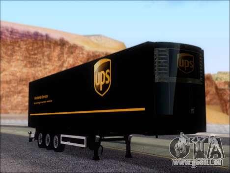 Прицеп United Parcel Service für GTA San Andreas