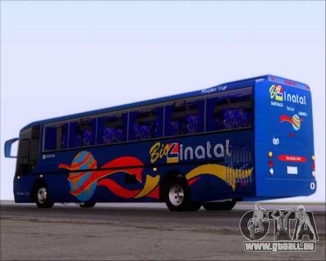 Busscar El Buss 340 Bio Linatal pour GTA San Andreas vue de droite