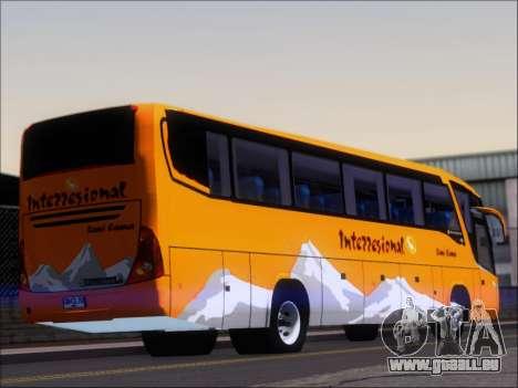 Marcopolo Viaggio 1050 G7 Buses Interregional pour GTA San Andreas sur la vue arrière gauche