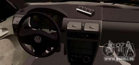 Volkswagen Golf G3 pour GTA San Andreas sur la vue arrière gauche