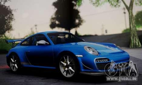 Porsche 911 GT3 RS4.0 2011 pour GTA San Andreas sur la vue arrière gauche