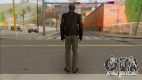 Leon .S.Kennedy v1 pour GTA San Andreas deuxième écran