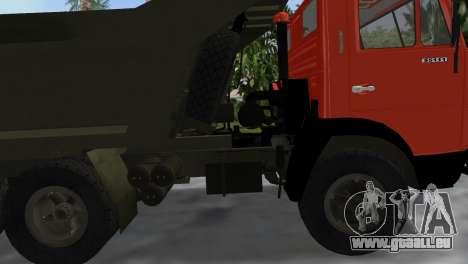 KamAZ 5511 pour une vue GTA Vice City de la droite