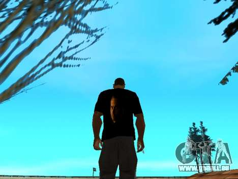T-Shirt Paul Walker für GTA San Andreas dritten Screenshot