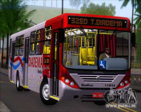 Comil Svelto 2008 Volksbus 17-2 Benfica Diadema pour GTA San Andreas laissé vue