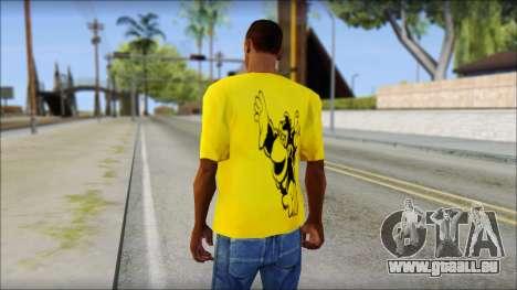 Bud Spencer And DAnusKO T-Shirt für GTA San Andreas zweiten Screenshot