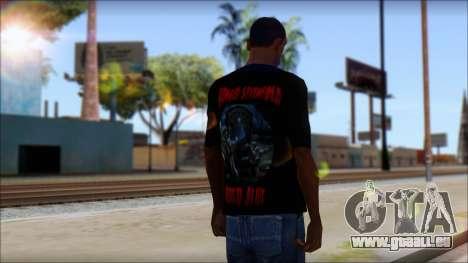 A7X Buried Alive Fan T-Shirt v1 pour GTA San Andreas deuxième écran