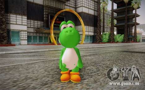 Yoshi from Super Mario für GTA San Andreas