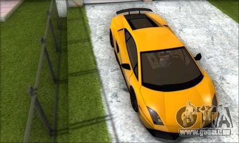 Lamborghini Gallardo LP570 Superleggera für GTA San Andreas linke Ansicht