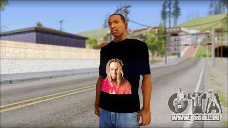 Max Cavalera T-Shirt v2 pour GTA San Andreas