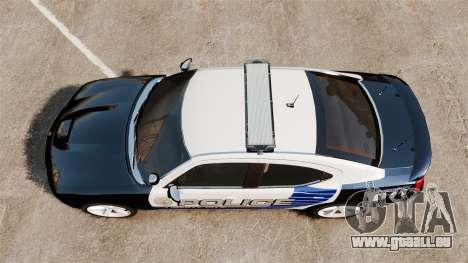 Dodge Charger SRT8 2010 [ELS] pour GTA 4 est un droit