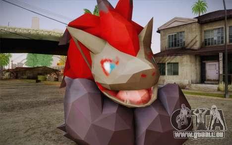 Zoroark from Pokemon pour GTA San Andreas troisième écran