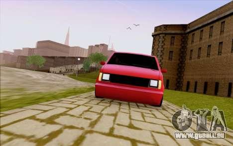 Moonbeam Stance für GTA San Andreas Seitenansicht