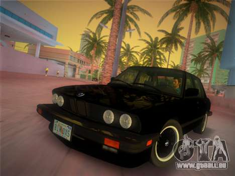 BMW 535i US-spec e28 1985 pour GTA Vice City