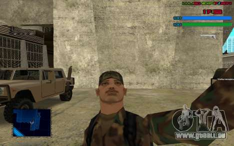 C-HUD by SampHack v.7 pour GTA San Andreas