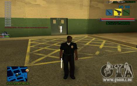 C-HUD by SampHack v.3 für GTA San Andreas zweiten Screenshot