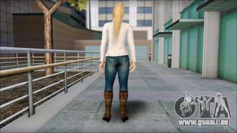 Sarah from Dead or Alive 5 v1 für GTA San Andreas zweiten Screenshot