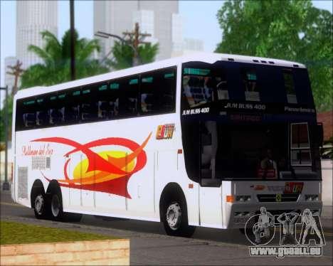 Busscar Jum Buss 400 Volvo B10R Pullman Del Sur für GTA San Andreas Räder