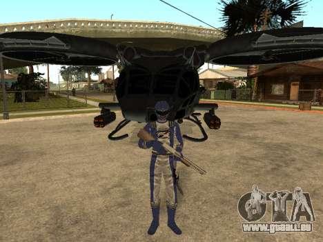 Power Rangers Operation Overdrive für GTA San Andreas achten Screenshot