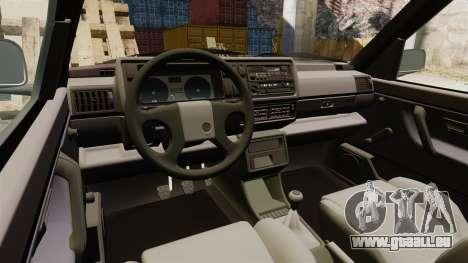 Volkswagen Golf GTI Mk2 für GTA 4 Innenansicht