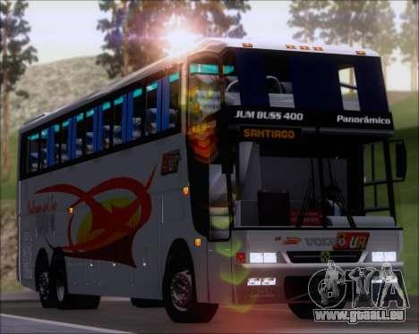 Busscar Jum Buss 400 Volvo B10R Pullman Del Sur für GTA San Andreas