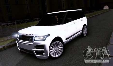 Land Rover Range Rover Startech für GTA San Andreas linke Ansicht