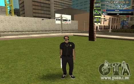 C-HUD by SampHack v.5 für GTA San Andreas zweiten Screenshot