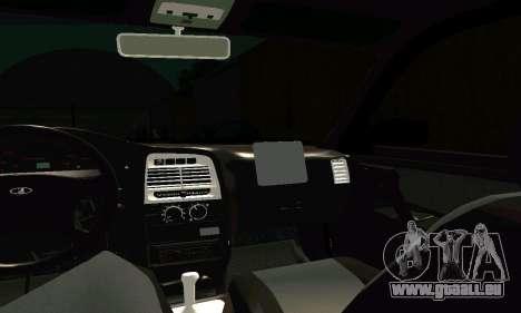 VAZ 21123 Turbo für GTA San Andreas obere Ansicht